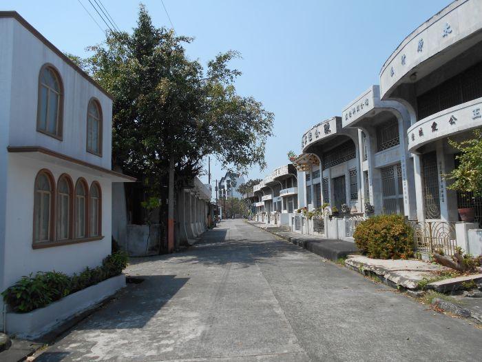 Ulica na Chińskim Cmentarzu