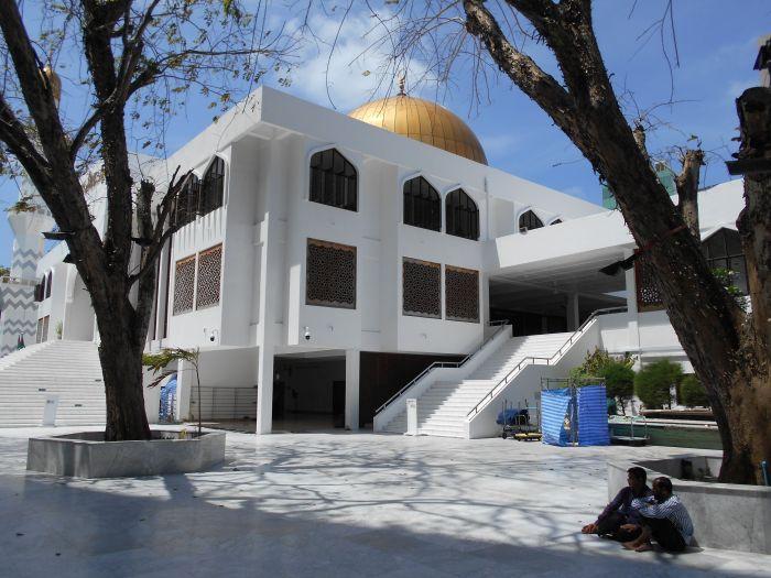 Male, meczet na 5000 ludzi
