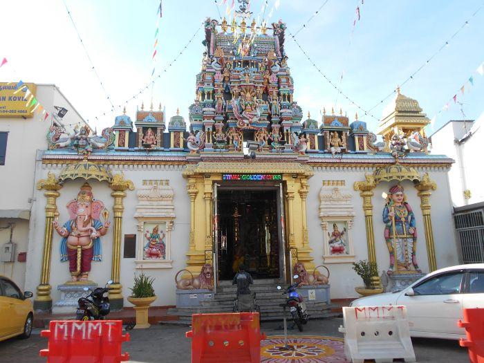 Wejście do Świątyni Sri Mahamariamman w Goergetown