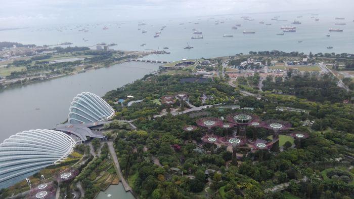 Singapur, Ogrody nad zatoką