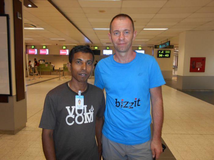 Mój przyjaciel z Male, Ahmed Sultan