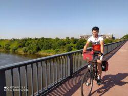 Przez most na Wiśle