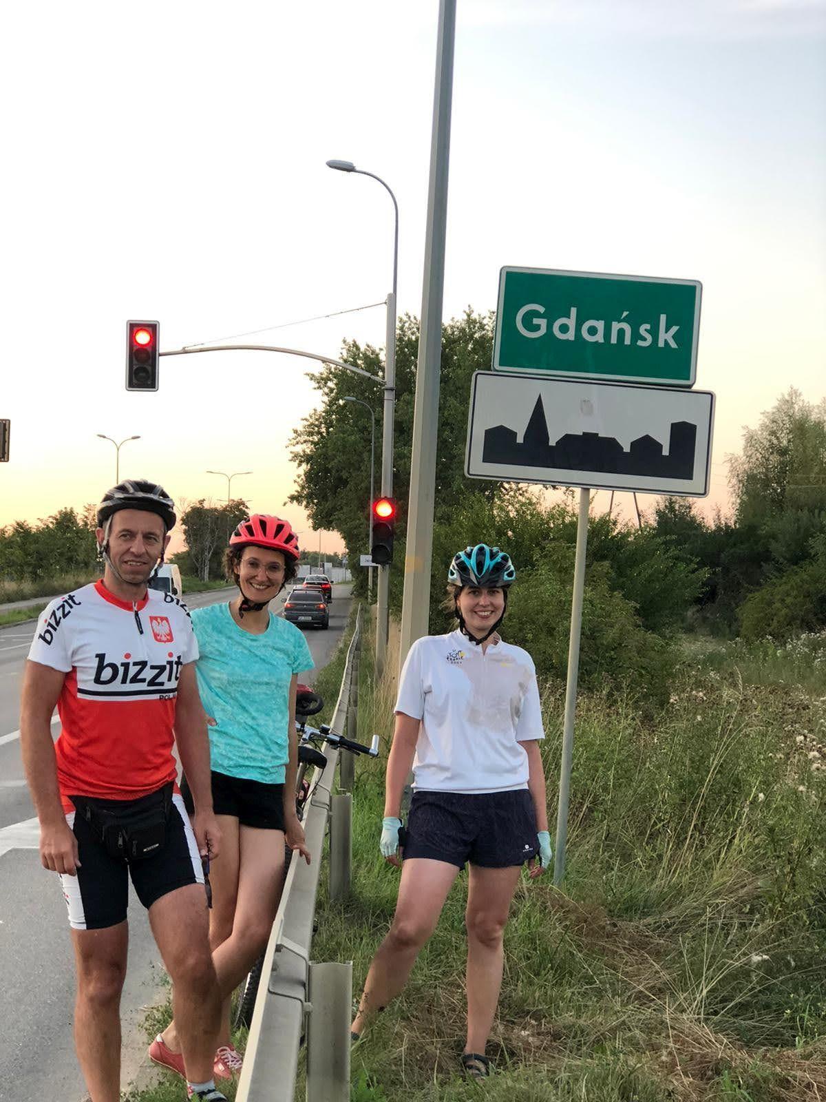 Gdańsk wita podróżników
