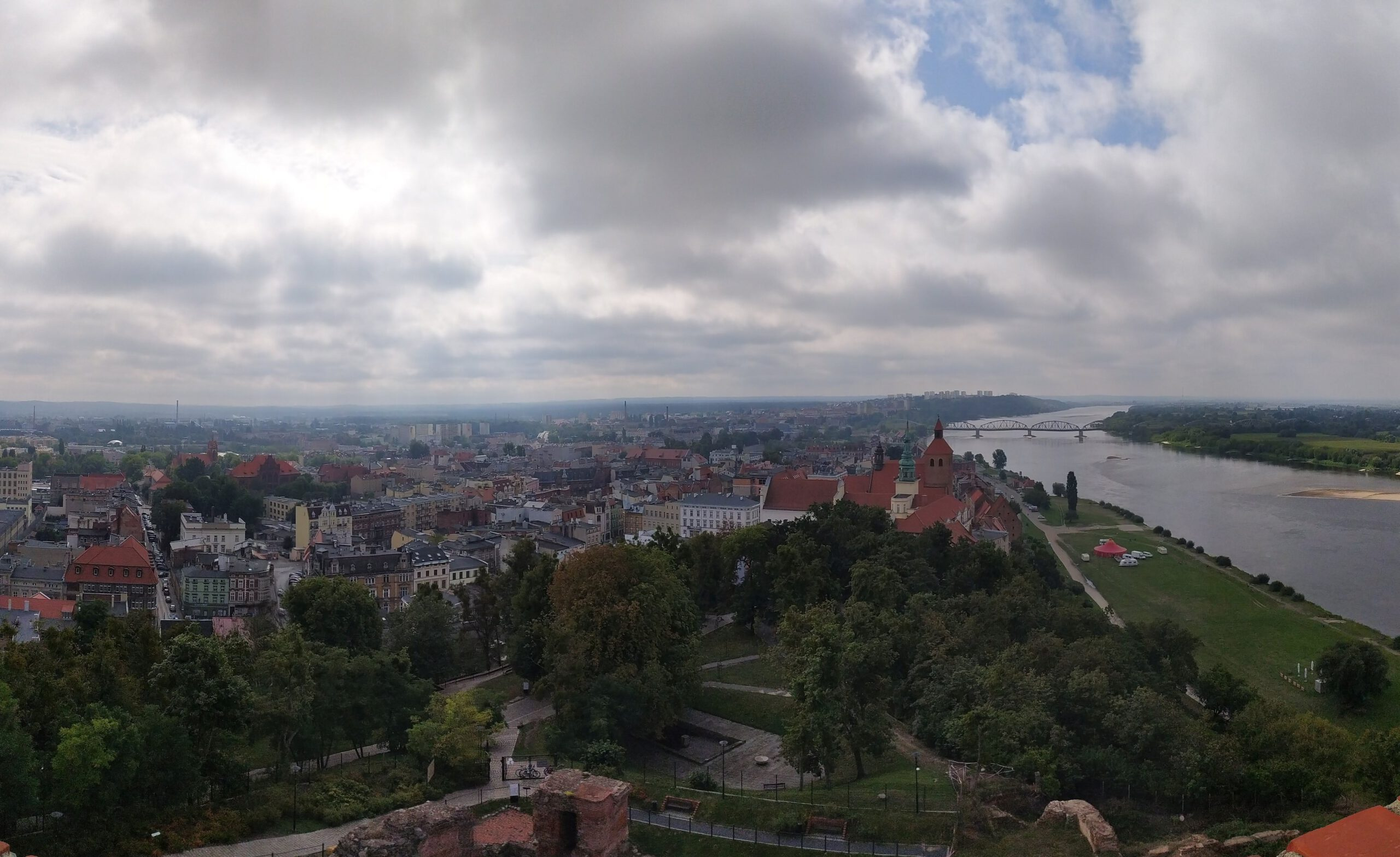 Panorama Grudziądza