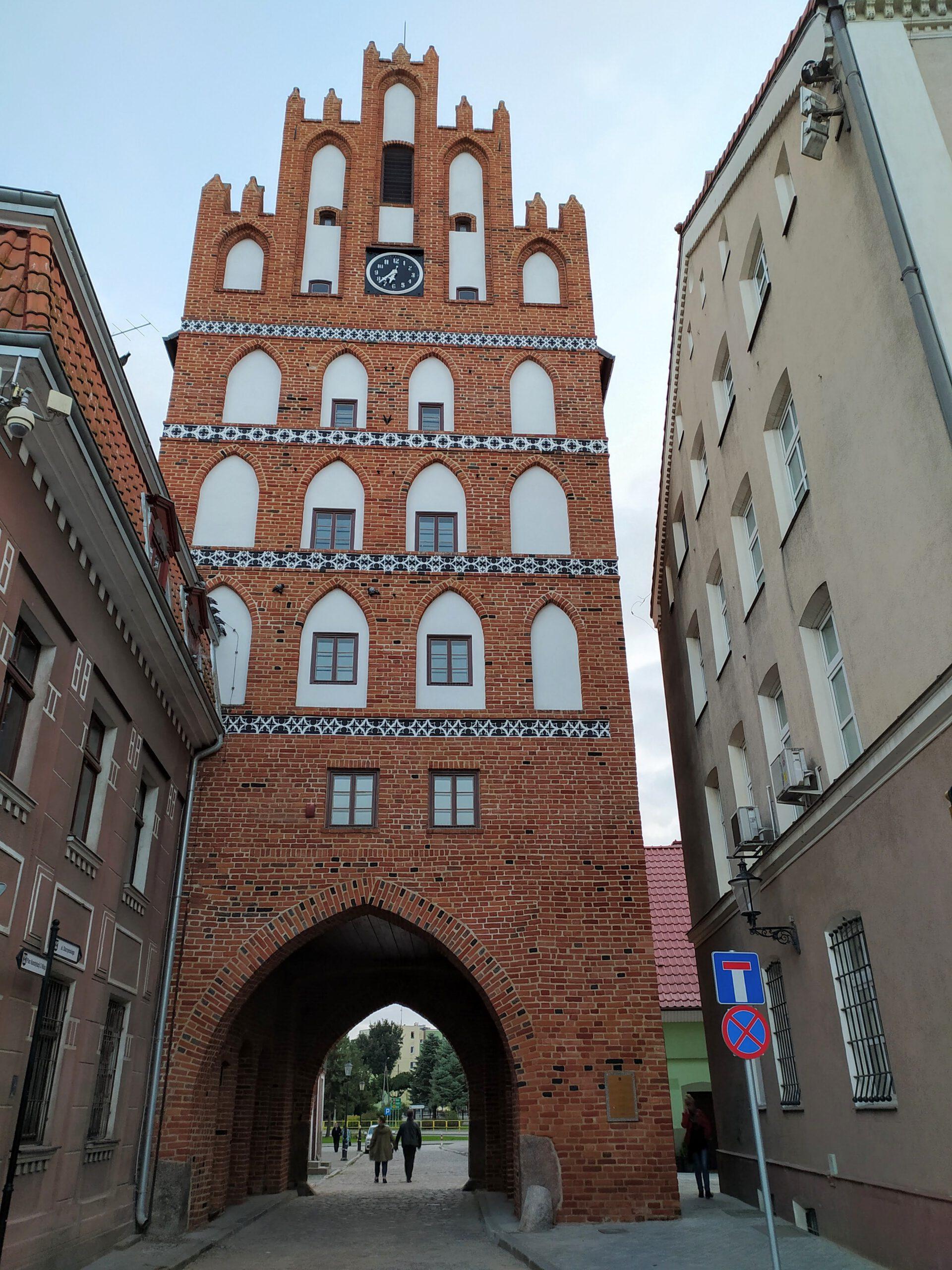 Brama Lidzbarska w Bartoszycach