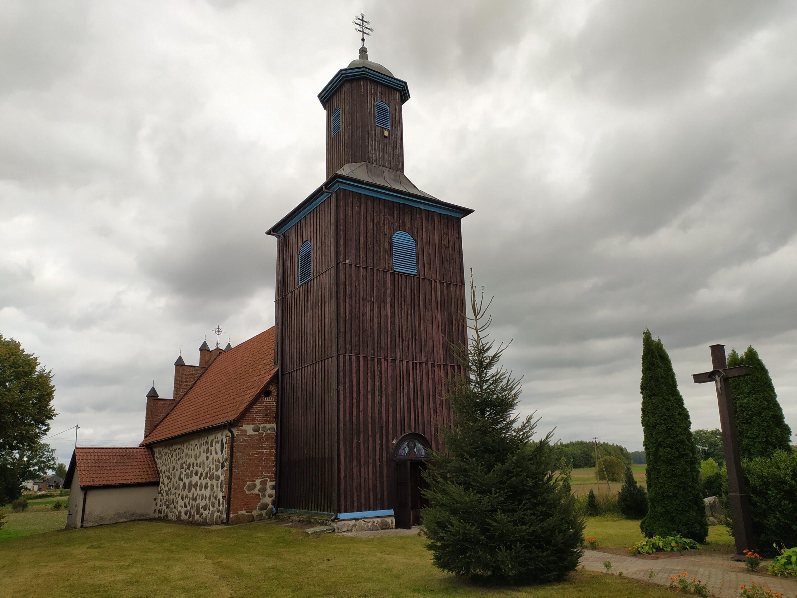 Cerkiew Grekokatolicka we wsi Ostre Bardo