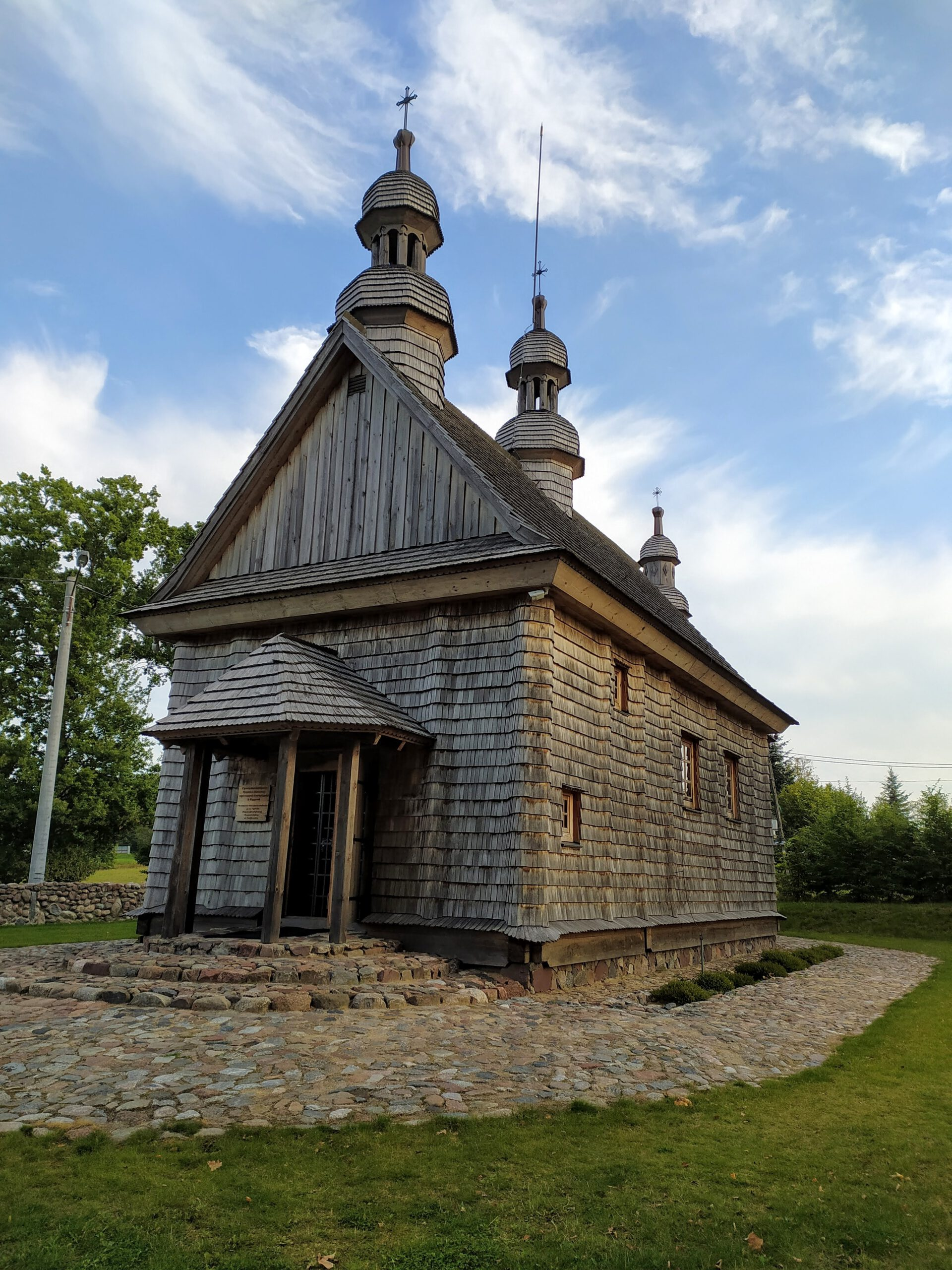 Drewniana Cerkiew Grekokatolicka w Godkowie
