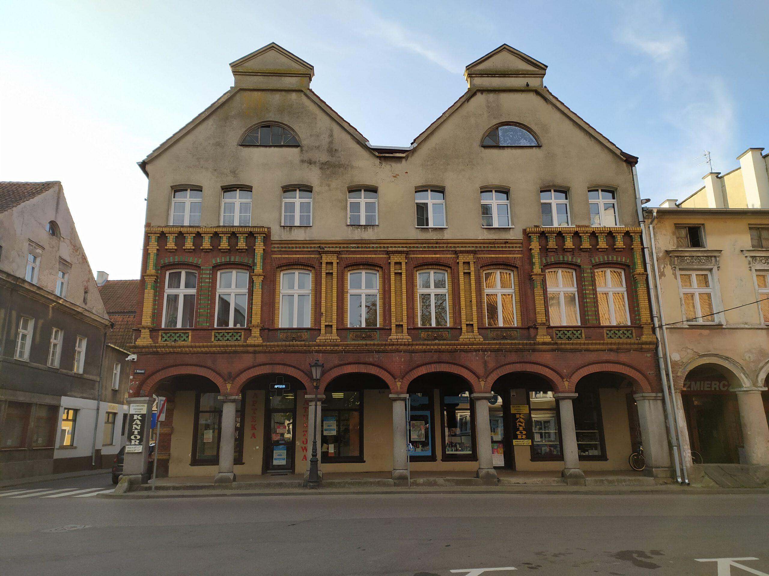 Kamienica Starego Miasta w Ornecie