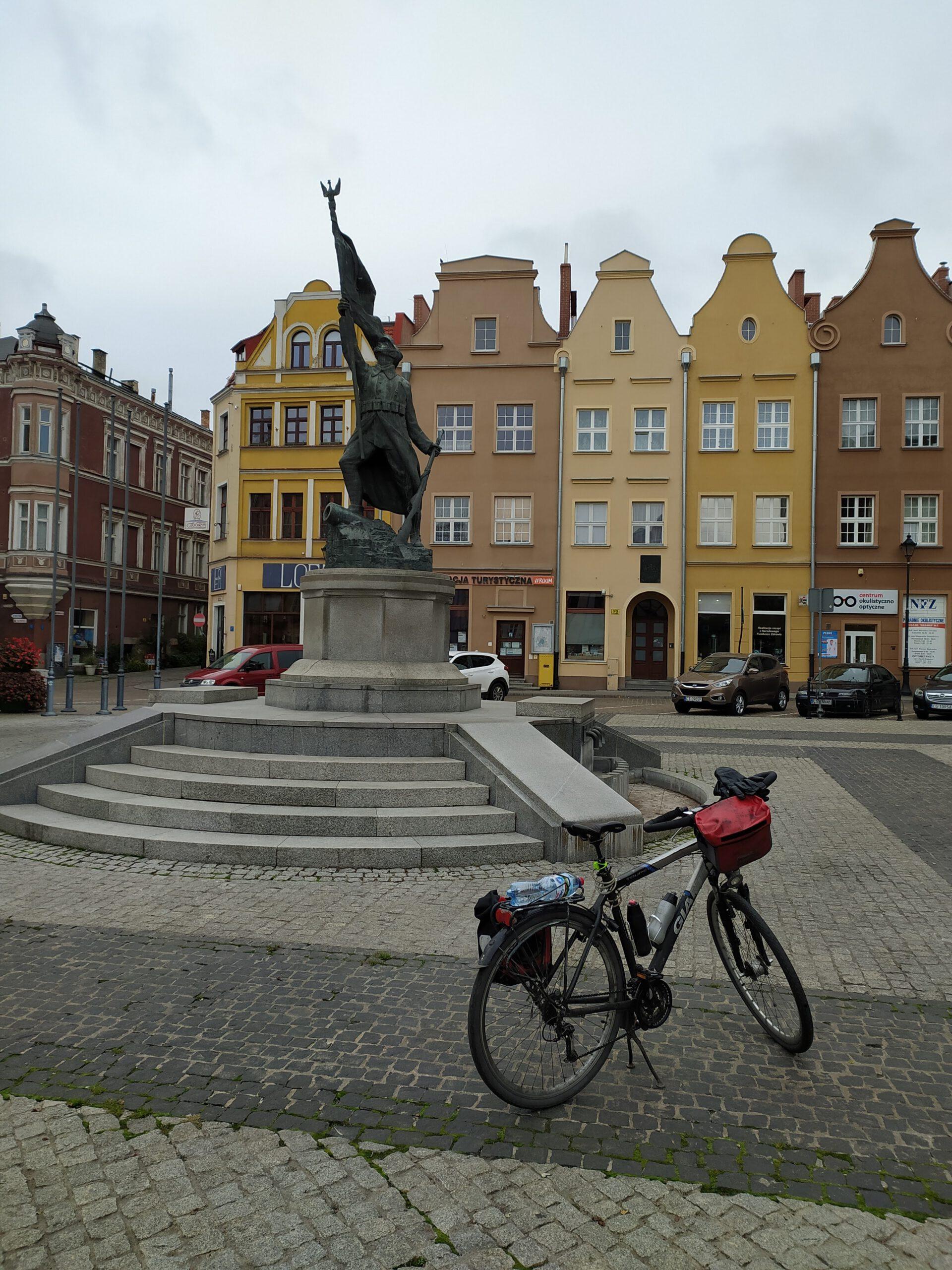 Kręcąc kilometry dla Gdańska docieram do Grudziądza