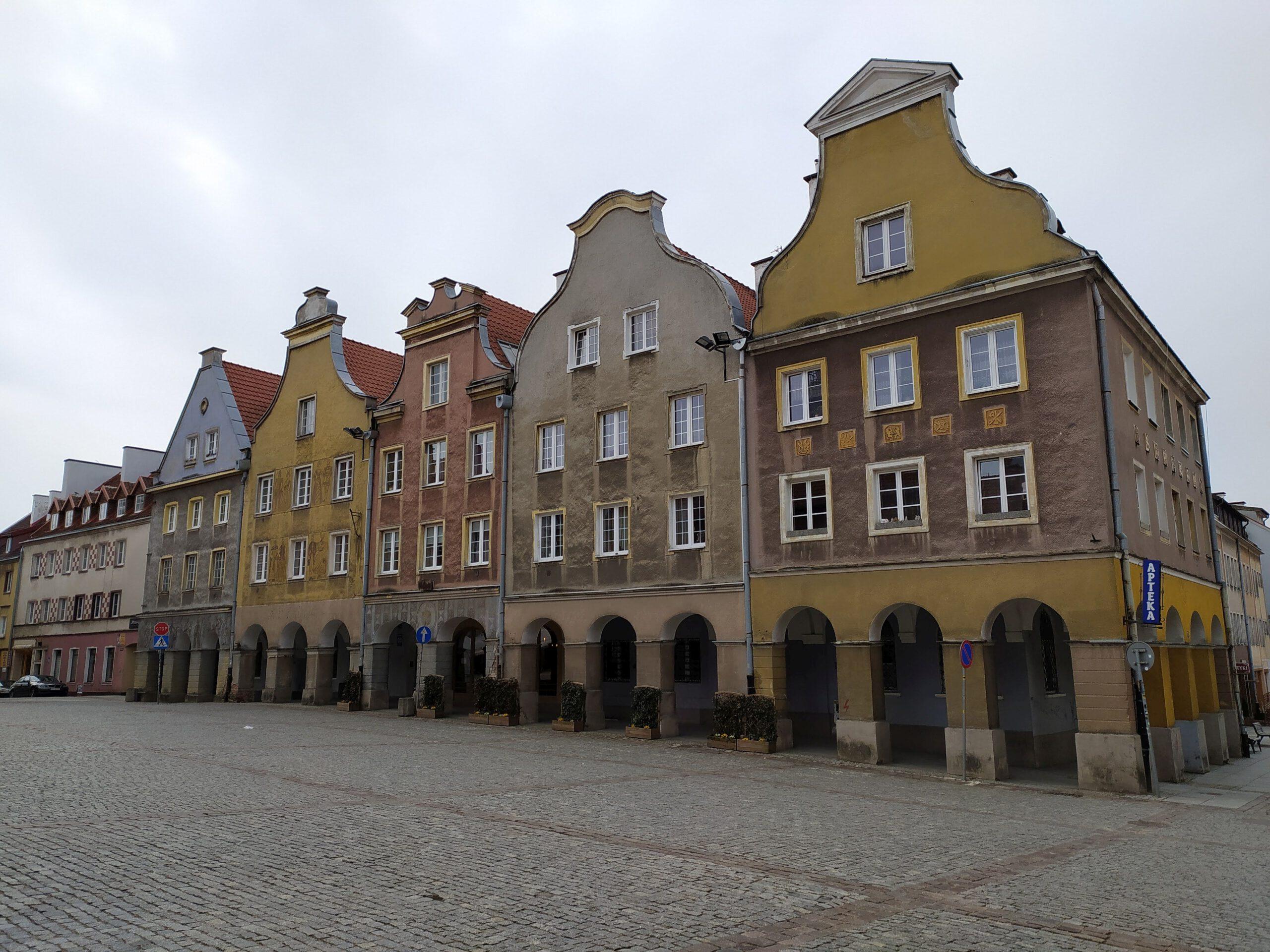 Kamienice przy Olsztyńskim Rynku