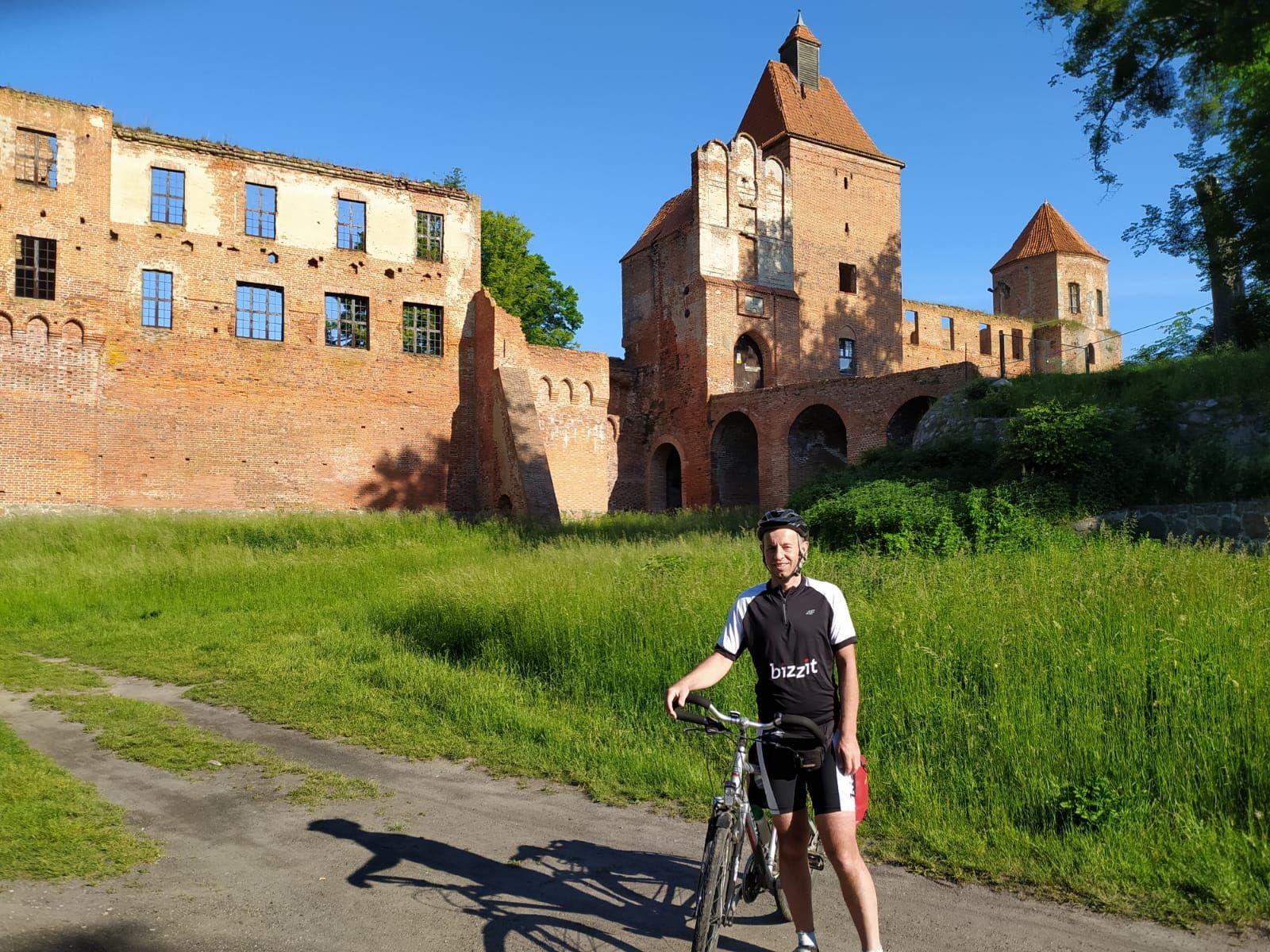 Zapomniany zamek krzyżacki w Szymbarku