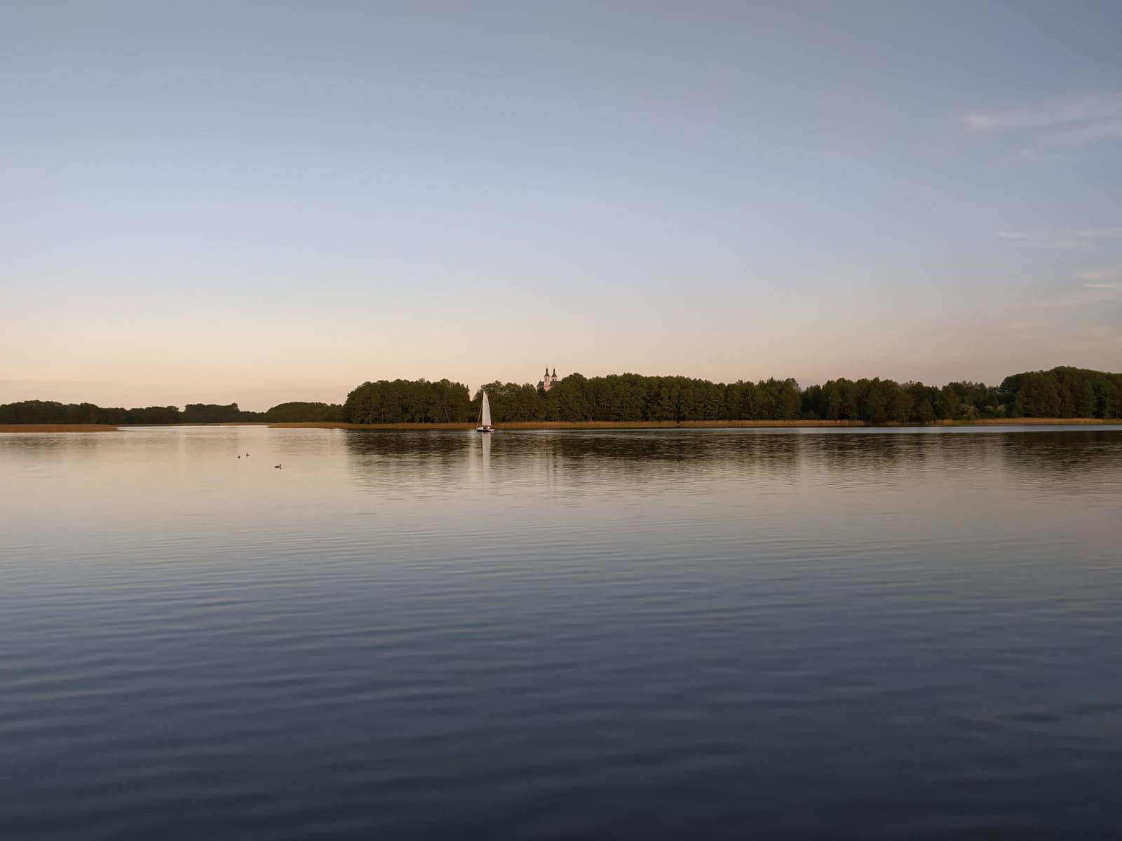 Zachód słońca nad Wigrami