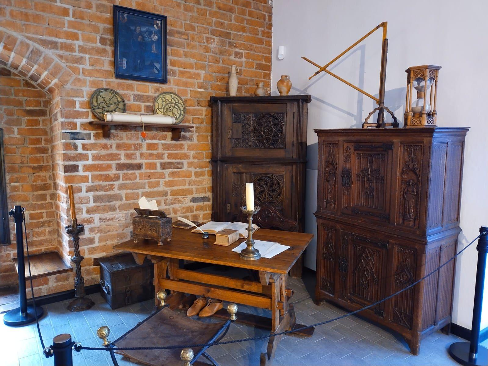 Biuro z czasów Kopernikowskich